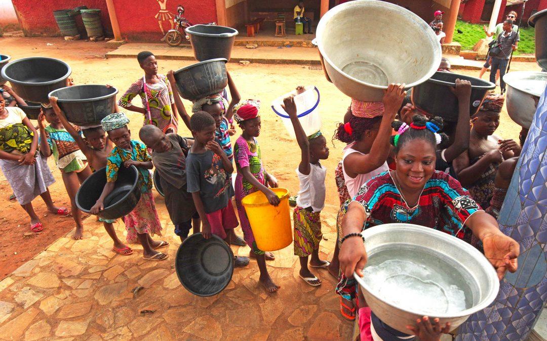 Sensibilisation de la population à la qualité de l'eau