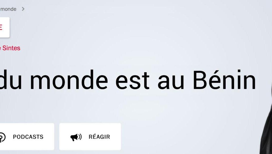Le bruit du monde est au Bénin
